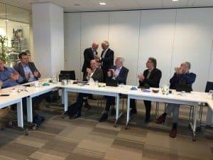 Karo van Dongen bestuurder van Woonstichting Etten-Leur voor de meeste labelstappen gerealiseerd in 2014
