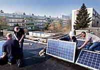 Groene Huisvesters wegbereider voor lagere energierekening