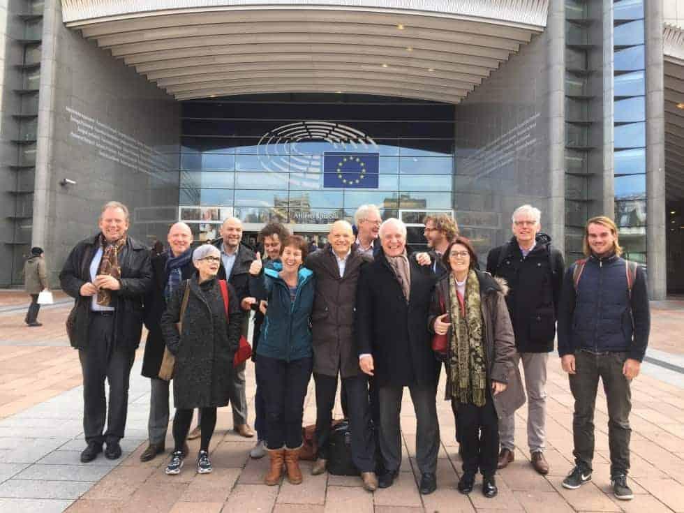 Groene Huisvesters op werkbezoek in Brussel op 23 en 24 februari