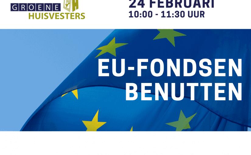EU-Fondsen benutten
