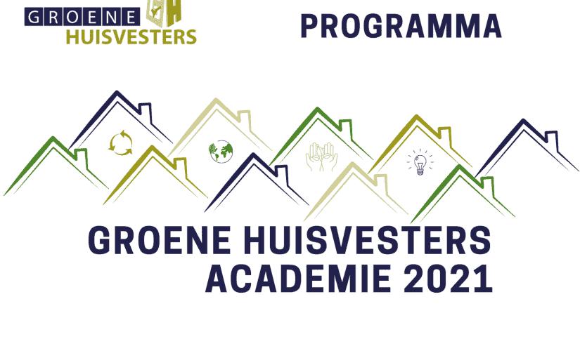 Groene Huisvesters Academie 2021