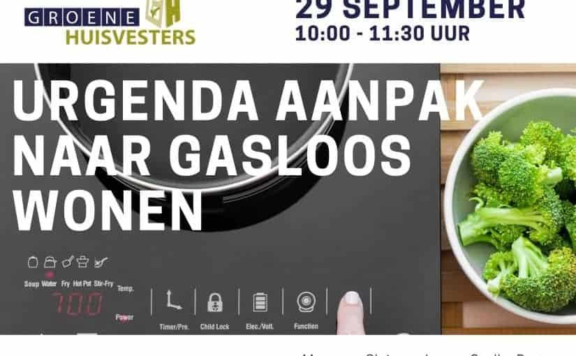 Urgenda aanpak naar gasloos wonen